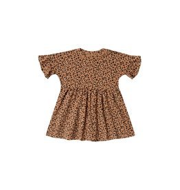 Rylee and Cru cheetah babydoll dress