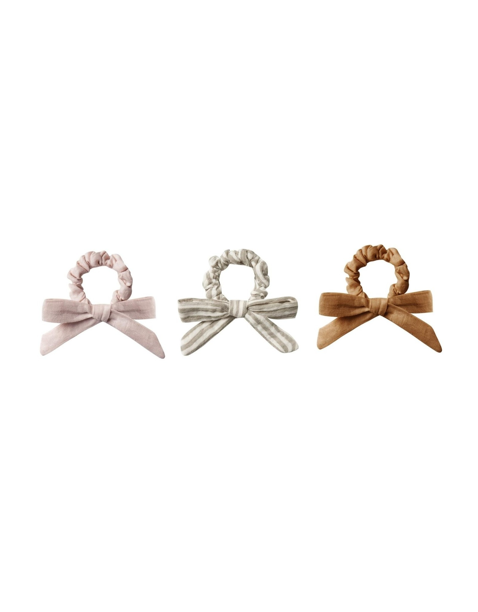 Rylee and Cru scrunchie set- lilac, olive, bronze