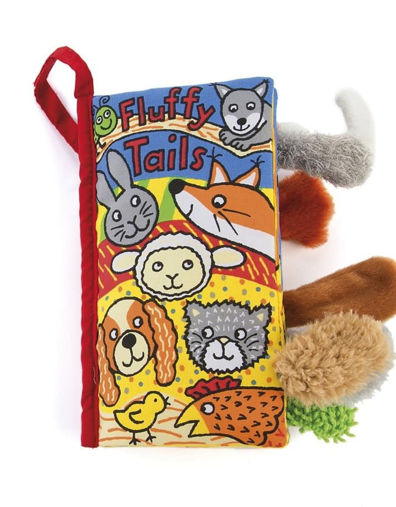 Jellycat fluffy tails book