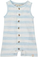 Me & Henry jersey playsuit- blue stripe