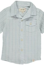 Me & Henry ss button down- pale blue