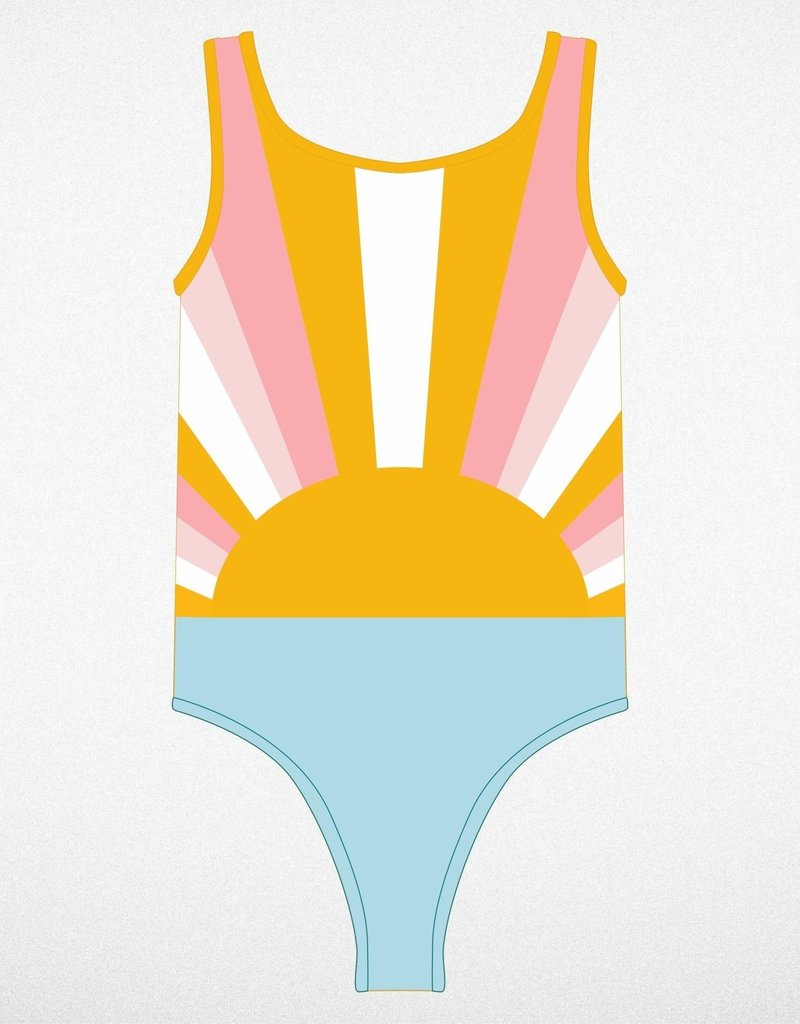 Tiny Whales sun child onepiece