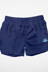 Tiny Whales grom short- navy