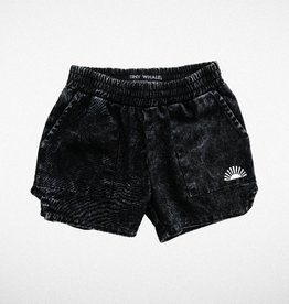 Tiny Whales rockaway short- black