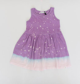 Little Moon Society jess dress- lilac splatter