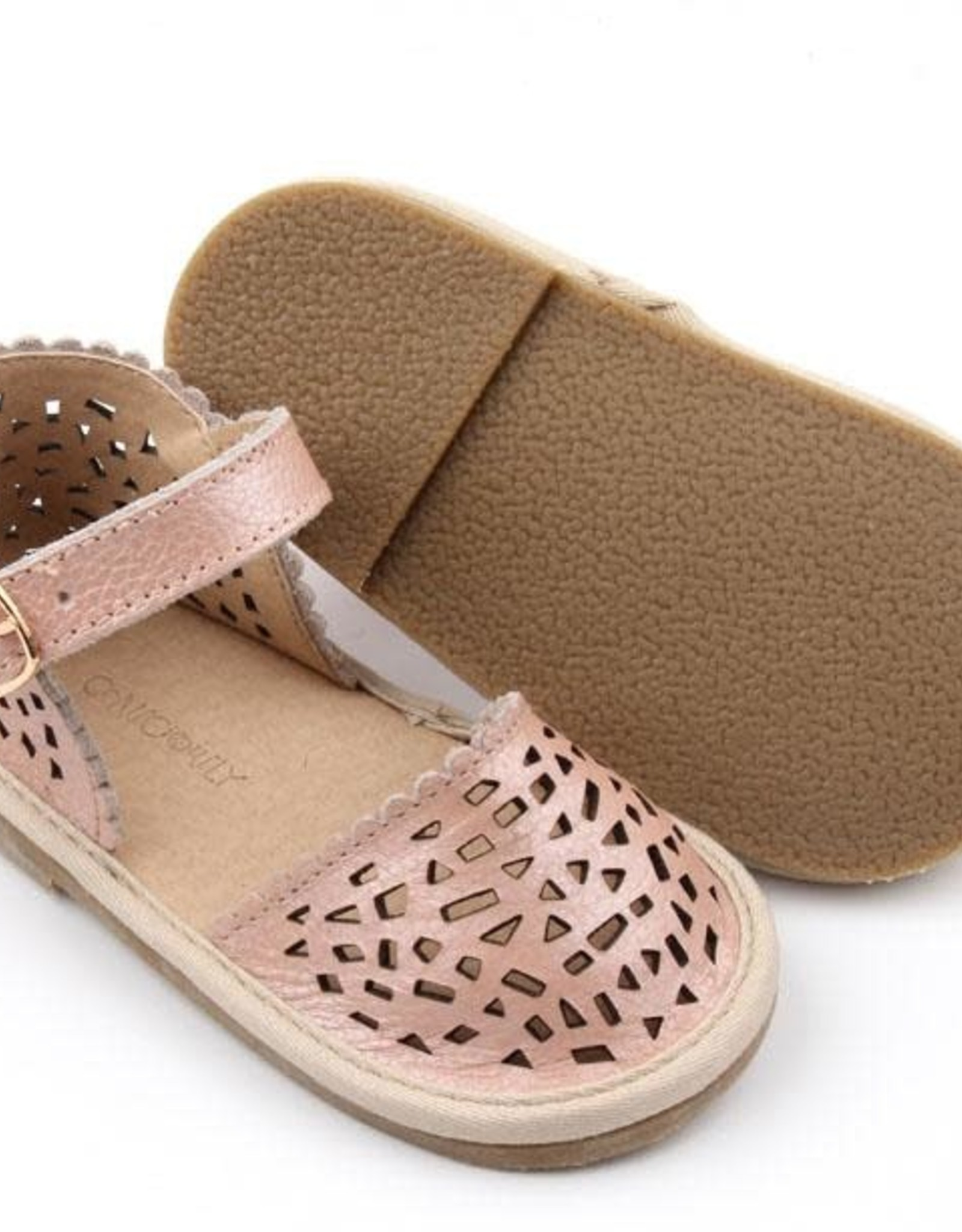 Consciously Baby pocket sandals- bellagio pink