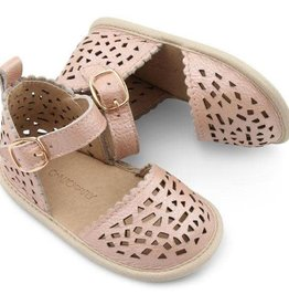 Consciously Baby pocket sandals- bellagio pink