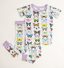 Little Sleepies butterflies pajamas