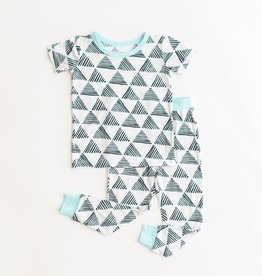 Little Sleepies triangles pajamas