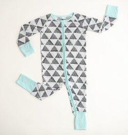 Little Sleepies triangles zippy