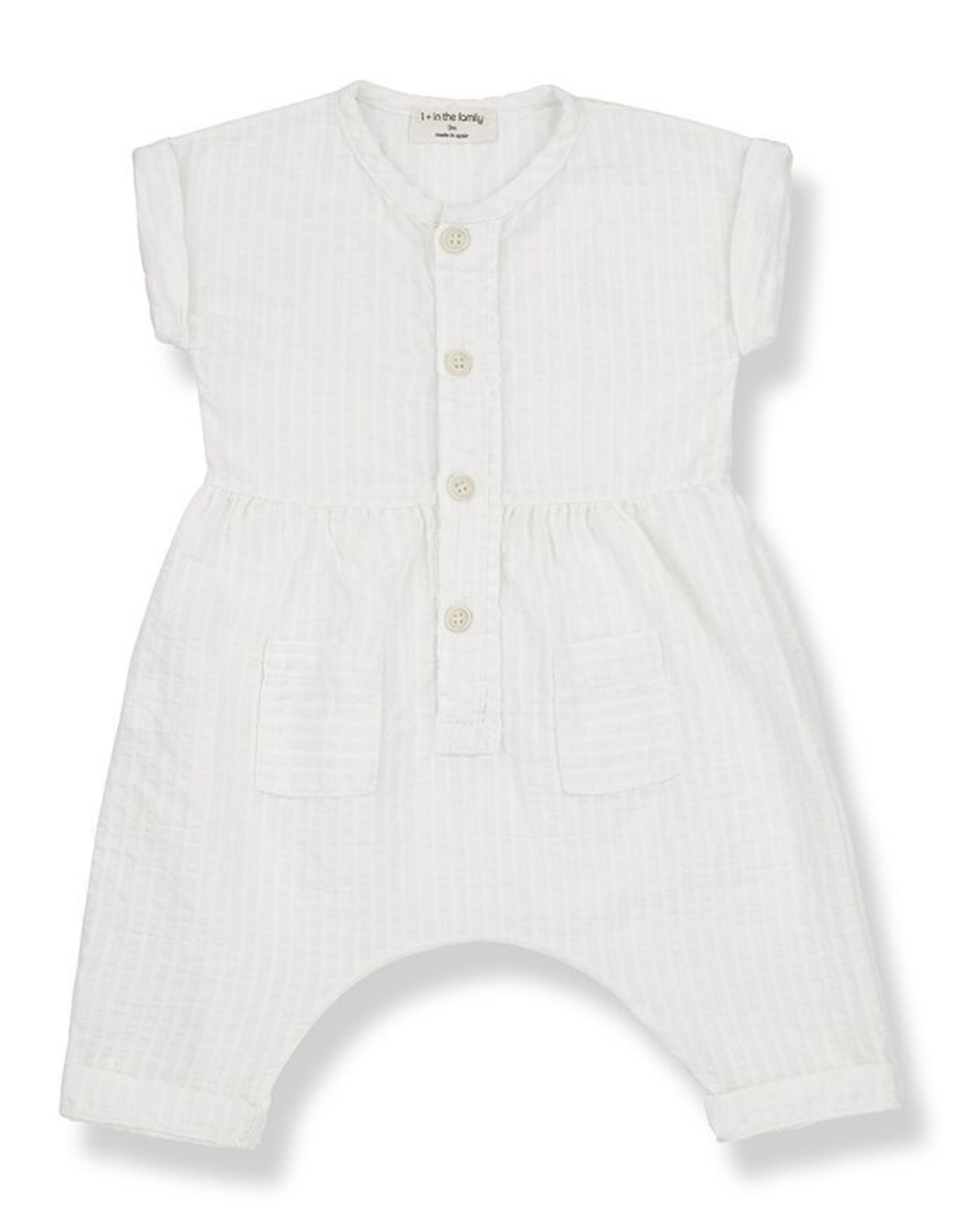 1+ in the Family zumaia overall- off white