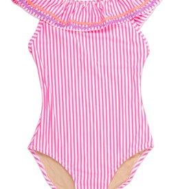 Shade Critters pink seersucker swim