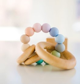 Bannor Toys ring teether seaglass