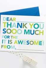 Joy Creative Shop fill in thank you