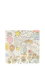 Meri Meri happy doodle napkins