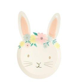Meri Meri bunny floral plate