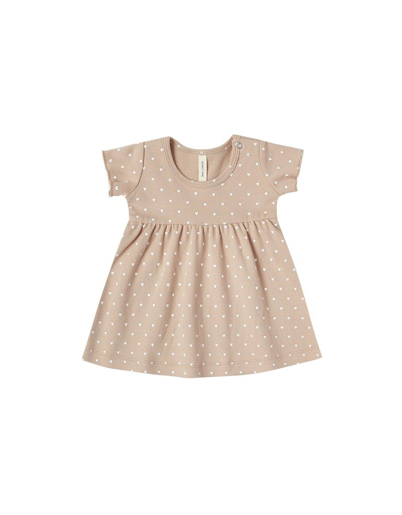 Quincy Mae baby dress- petal heart