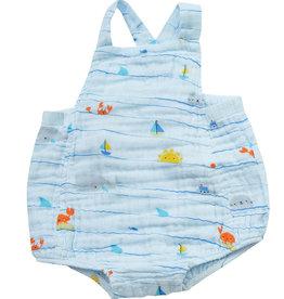 Angel Dear sea stripes sunsuit