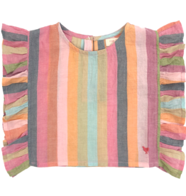 Pink Chicken ingrid top- stripe