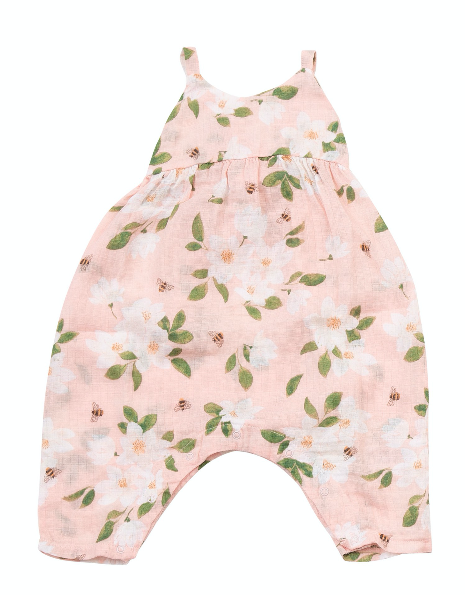 Angel Dear magnolias romper