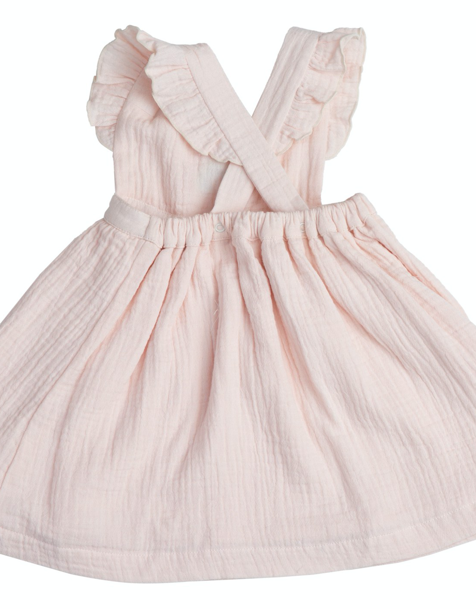 Angel Dear rainbows pinafore top set