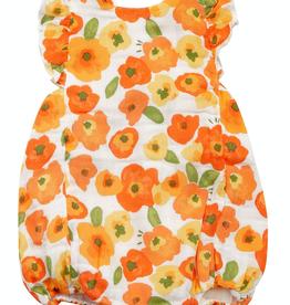 Angel Dear poppies sunsuit