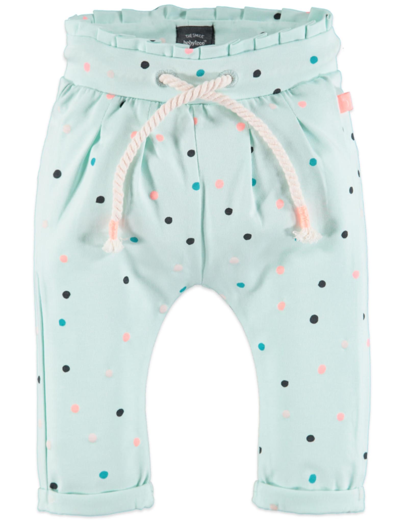 Babyface dot pants- mint