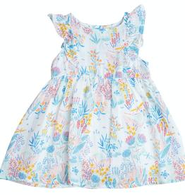 Angel Dear crane ruffle dress set