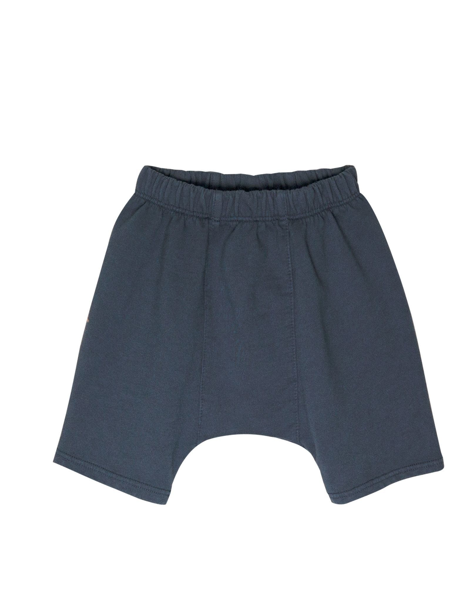 Go Gently Nation panel short- indigo