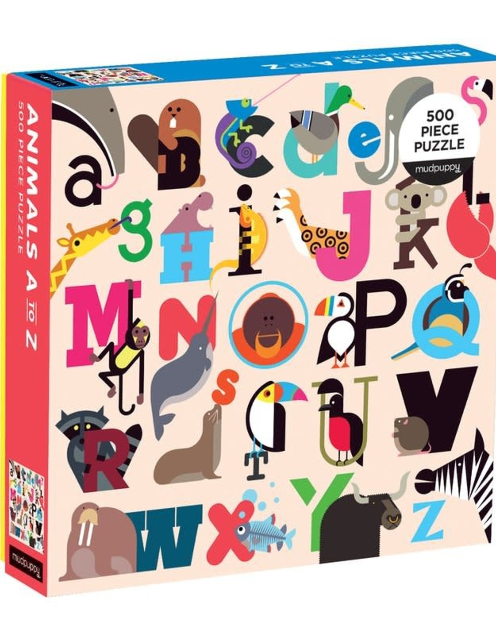 Mudpuppy animals a-z puzzle