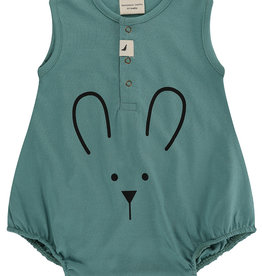 Turtledove London bunny face romper- sage