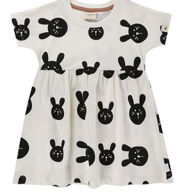 Turtledove London bunny dress- ecru