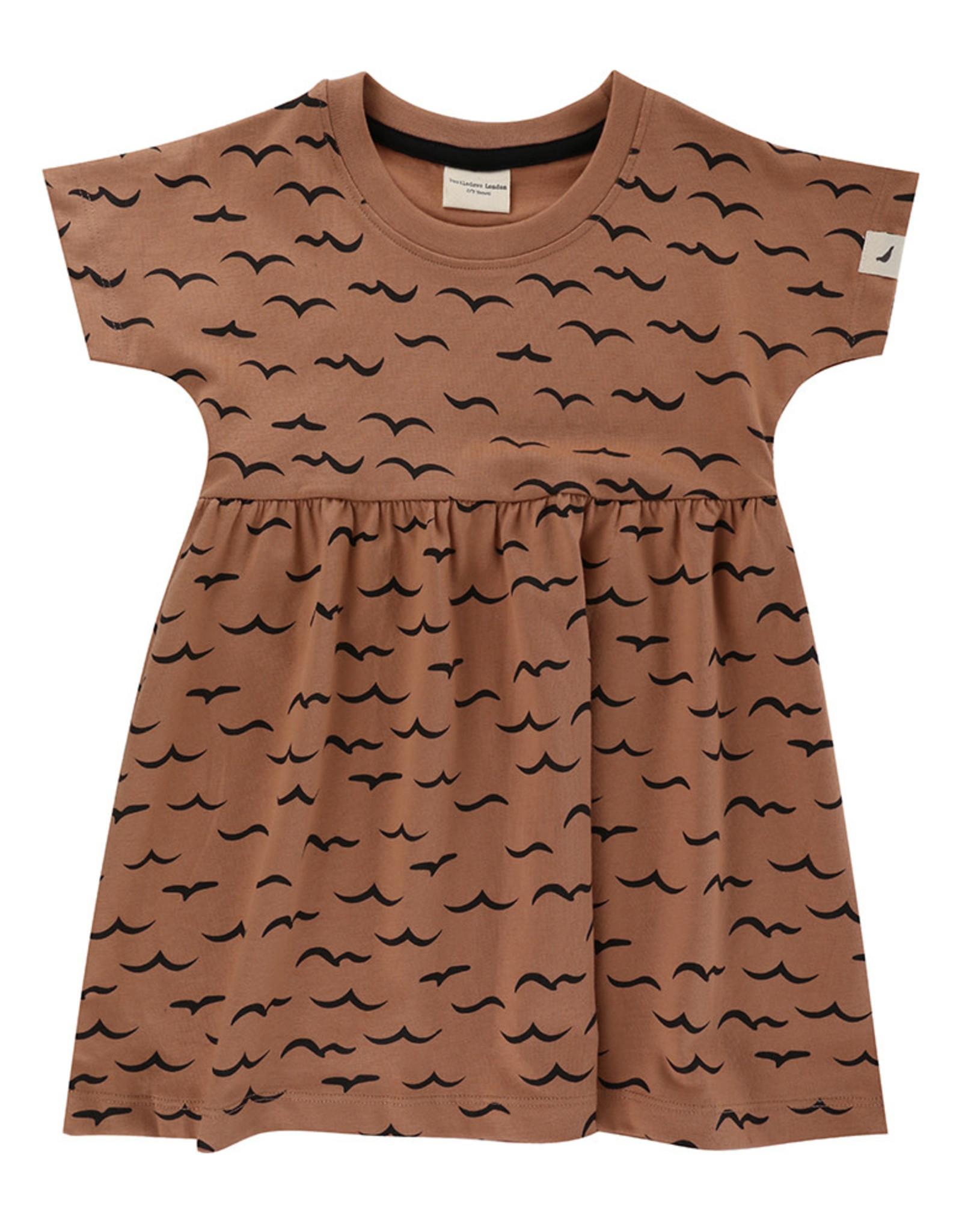 Turtledove London air & sea dress- clay