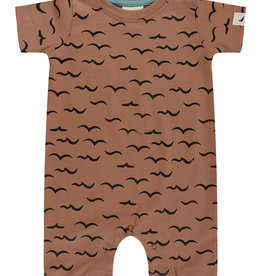 Turtledove London air & sea romper- clay