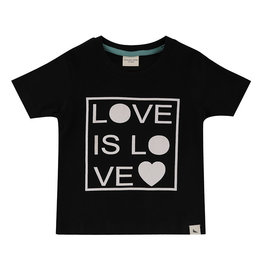 Turtledove London love is love tee- black