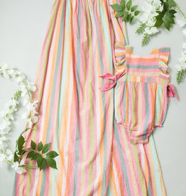 Pink Chicken andie dress- stripe