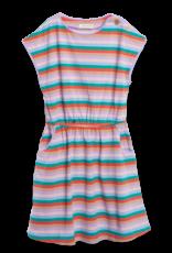 Siaomimi maddie dress- rainbow stripe