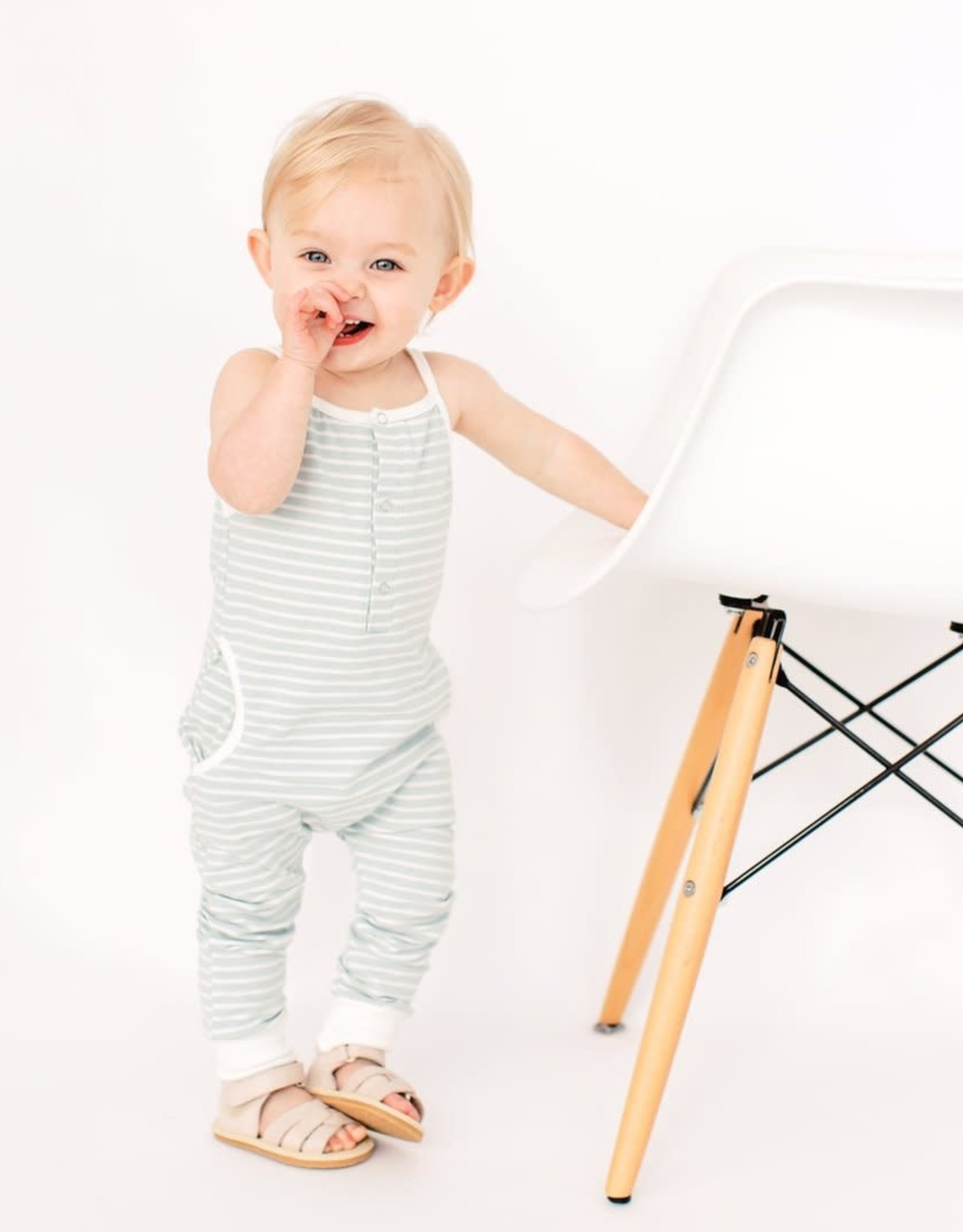 Little Bipsy Collection della sandals- white ivory