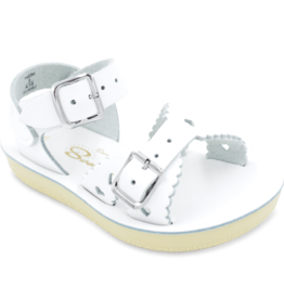 Hoy Shoe Co. sweetheart sandal- white