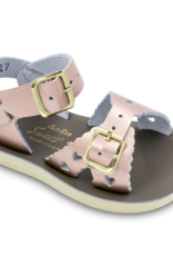 Hoy Shoe Co. sweetheart sandal- rose gold