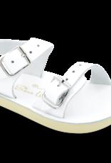 Hoy Shoe Co. sea wee sandal- white
