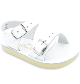 Hoy Shoe Co. sea wee sandal- white