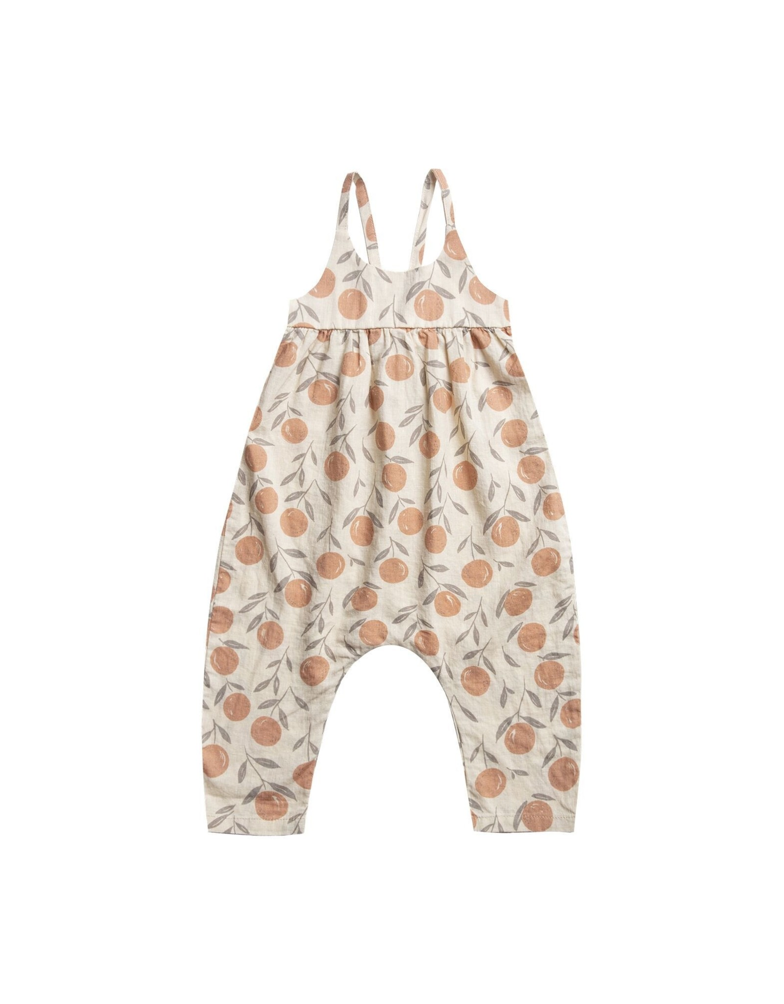 Rylee and Cru peaches gigi jumpsuit