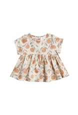 Rylee and Cru peaches jane blouse