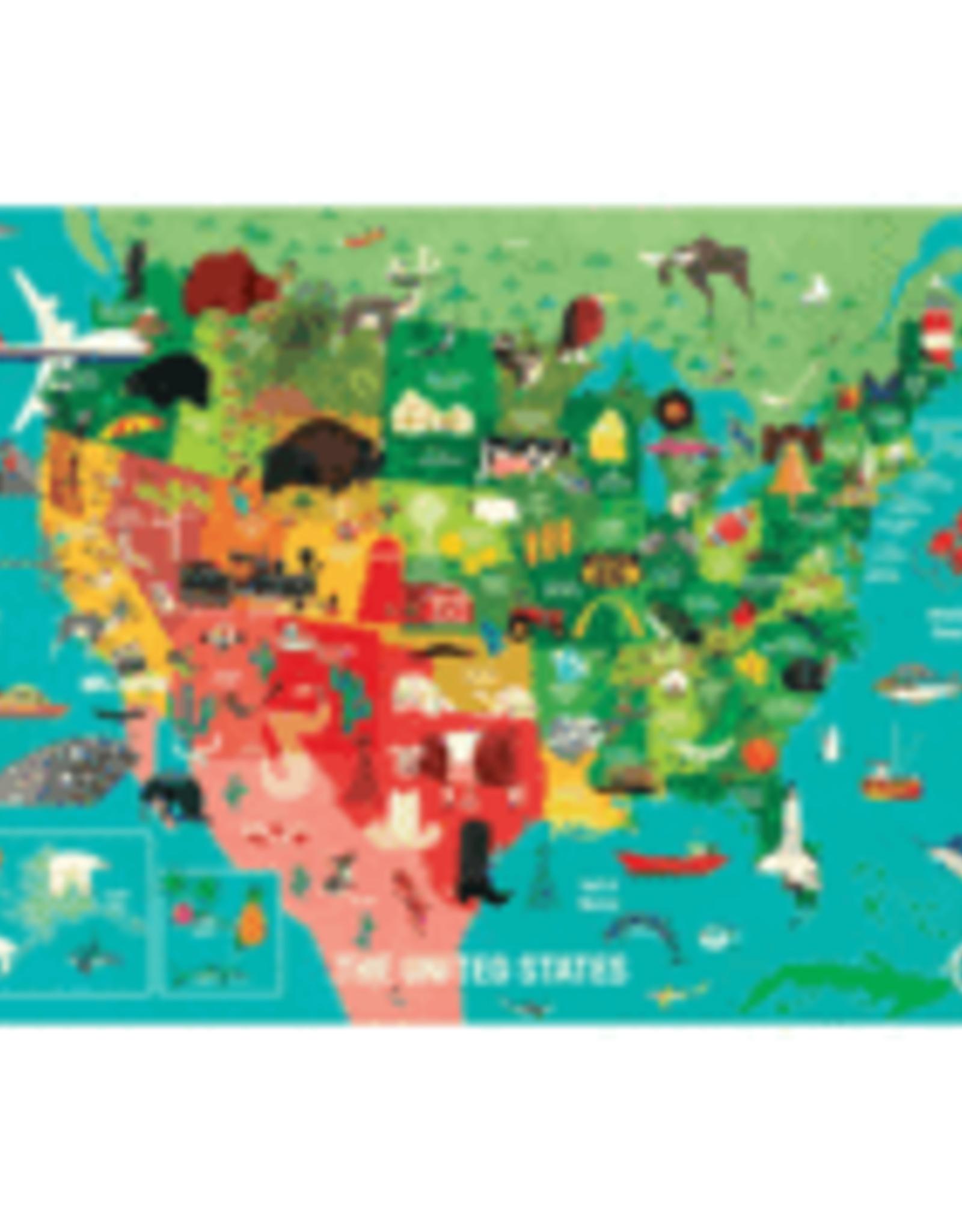 Mudpuppy United States Puzzle
