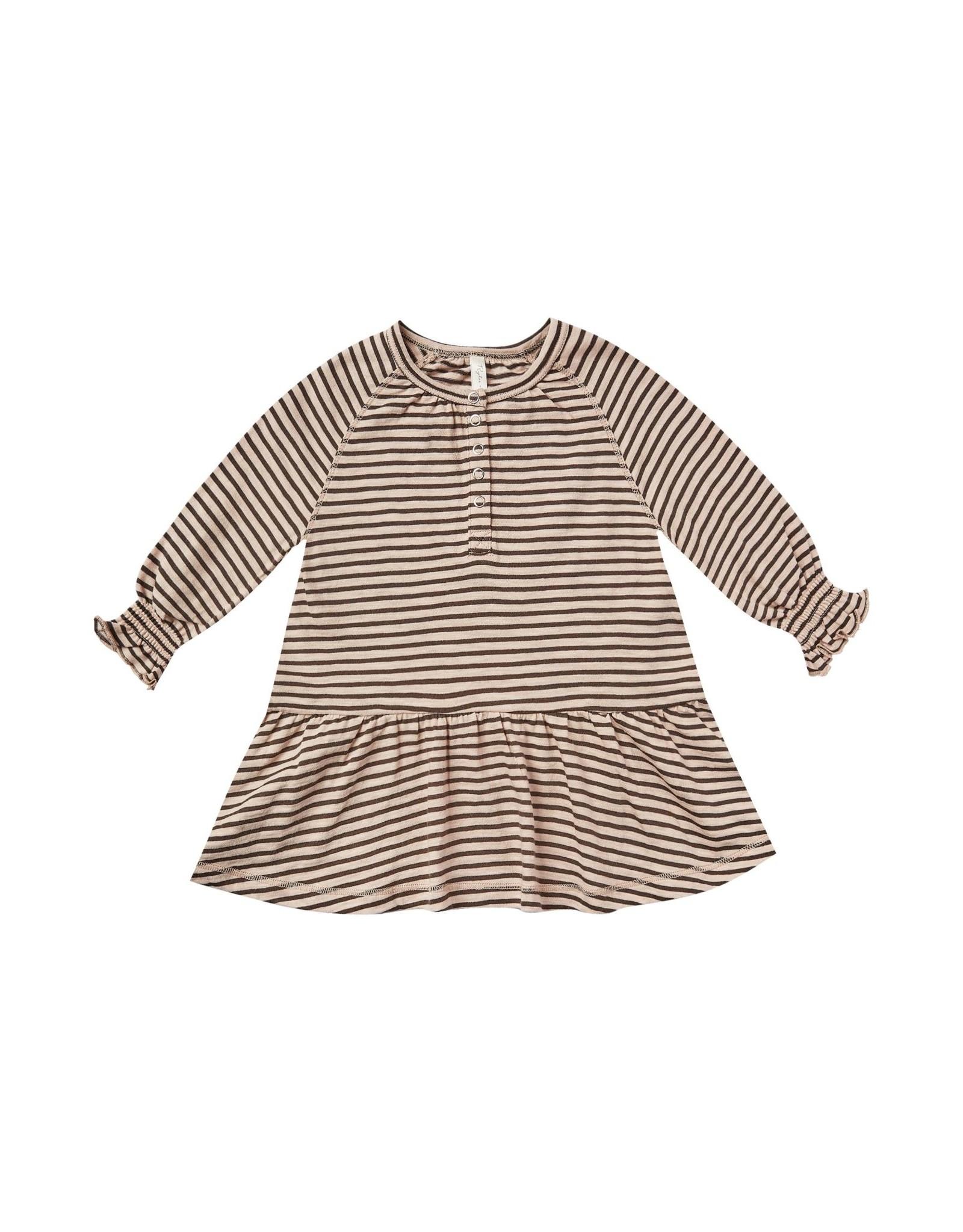 Rylee and Cru stripe swing dress