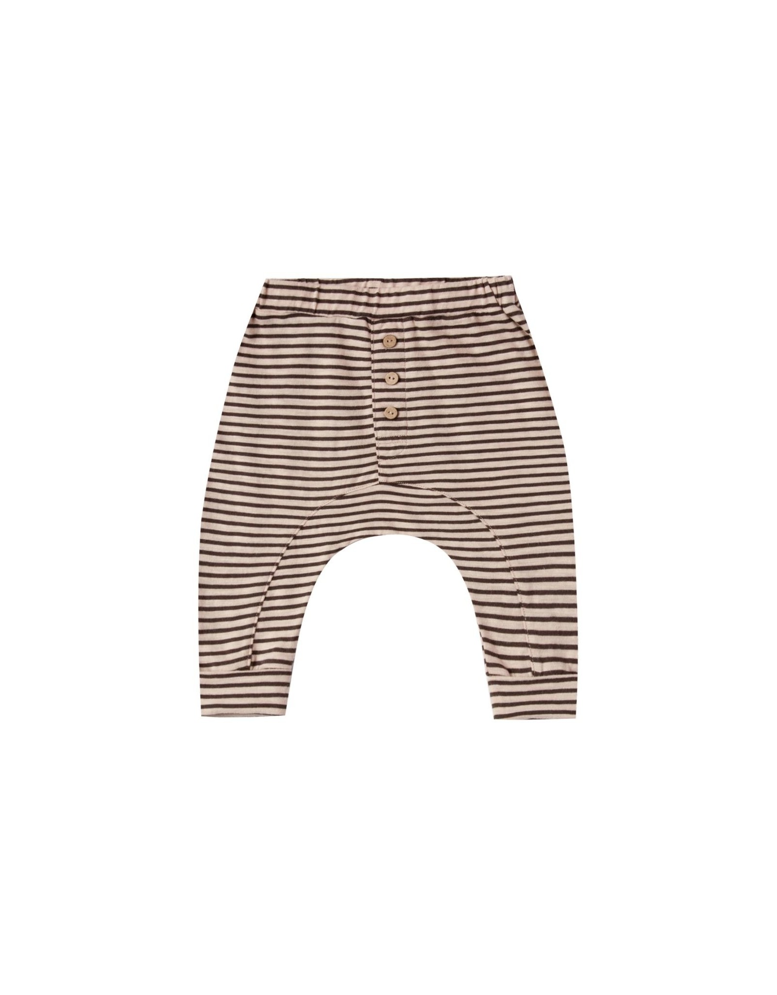 Rylee and Cru striped slub pant