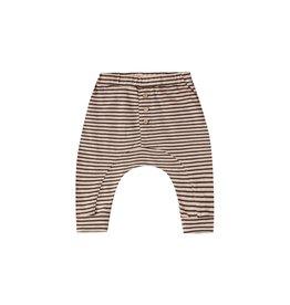 Rylee and Cru striped slub pant