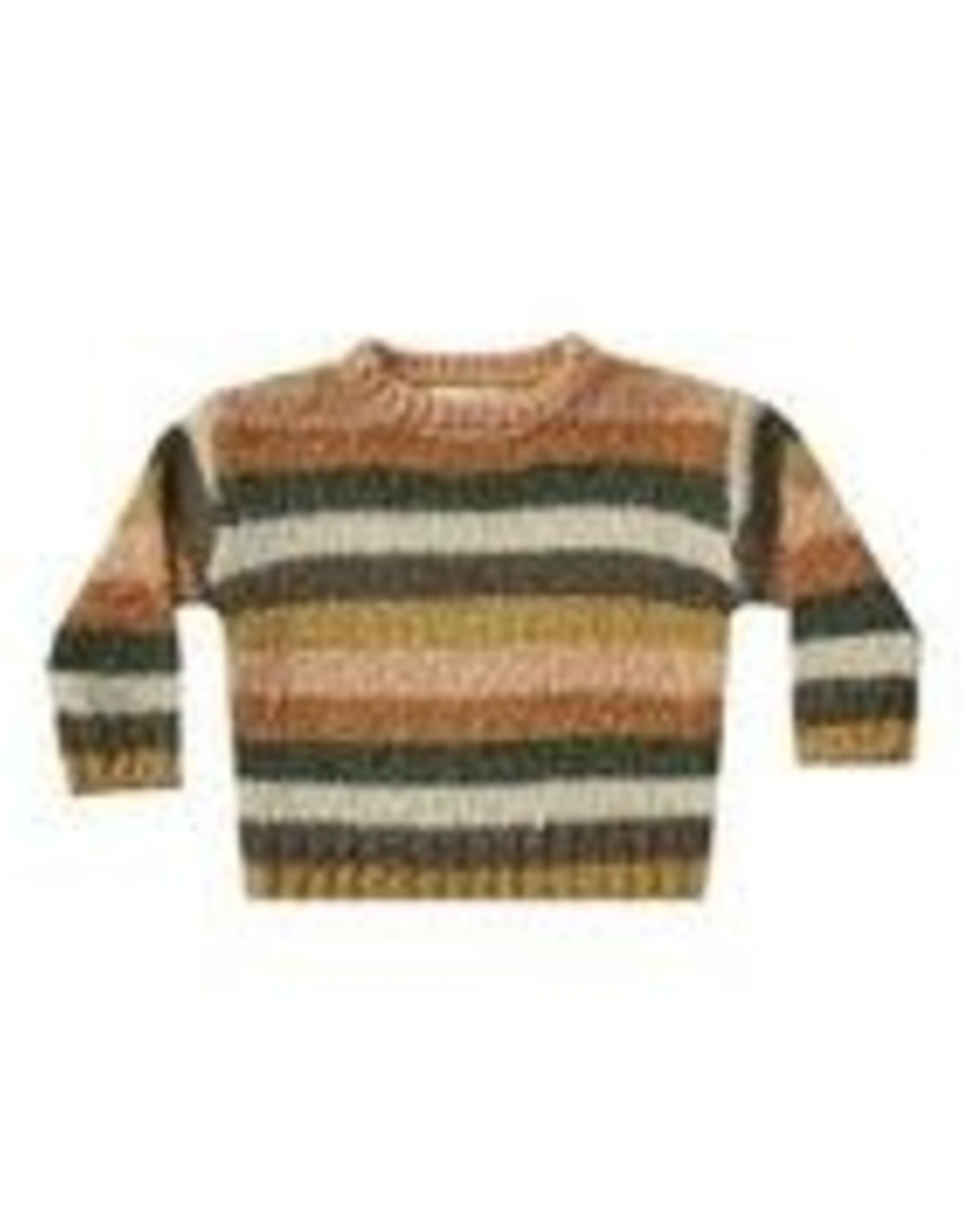 Rylee and Cru stripe aspen sweater- multi