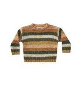 Rylee and Cru stripe aspen sweater- multi